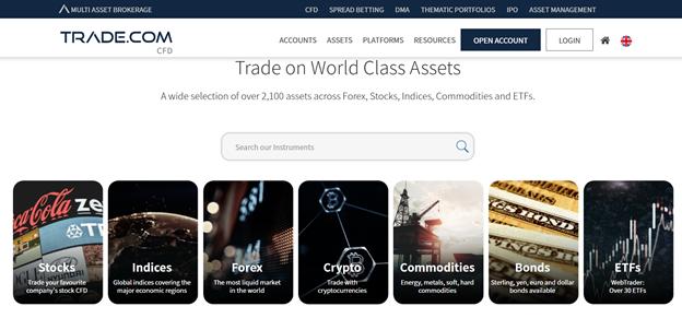 TRADE.com assets