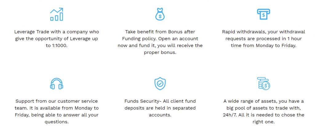 Arox Capital trading benefits